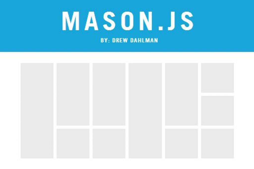 mason.js dynamic grid lyout